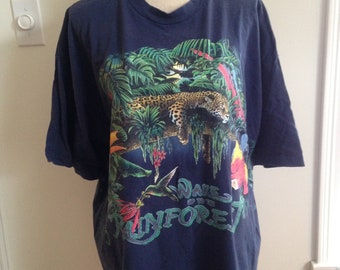 Vintage Rainforest Habitat 90s Tshirt