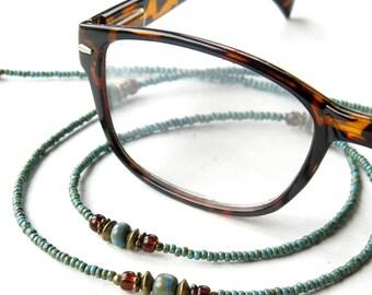 Glasses chain beaded eyeglass lanyard sunglasses holder necklace keeper