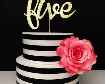 Princess age cake topper- Cake Topper-princess cake topper- personalized princess cake topper- crown cake topper- birthday cake topper