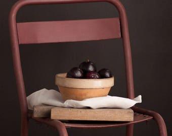 Vintage Mauve Bistro Chair