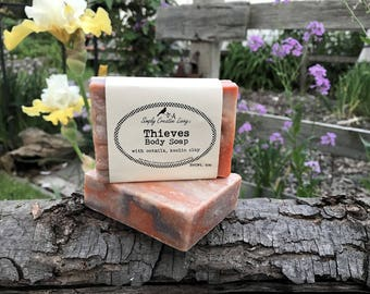 Thieves Body Soap Essential Oil Blend with Oat Milk
