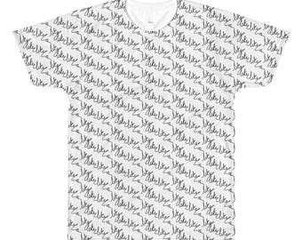 Men's All-Over Printed T-Shirt - Like Like Like