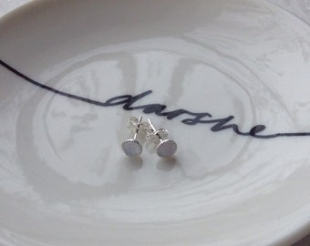 Chalcedony Studs, Chalcedony studs, Natural Chalcedony Studs, gemstone studs, Chalcedony  Earrings, Gemstone Earrings,