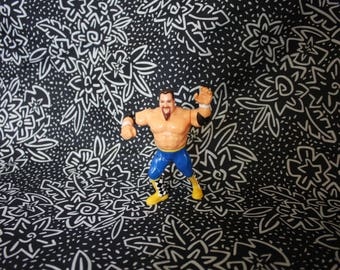 Jim The Anvil Neidhart Action Figure. Vintage WWF Hasbro Wrestling Action Figure.  Classic 1980s Kid Toy Collectible. 90s Action Figure Toy