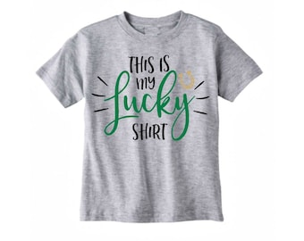 lucky shirt, irish shirt, st patricks outfit, st patricks day shirt kids, st pattys day shirt, toddler shirt, kids st patricks day, green