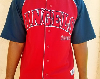 "Vintage California ""Angels"" Baseball Jersey - 90's"