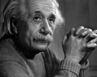 Albert Einstein portrait, Black and white, old, vintage, antique, photography, photo, photograph, picture, print, fine art