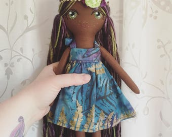 "Crescent Moon Doll ""Hummingbird"""