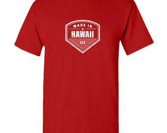 Made in Hawaii T Shirt - Red