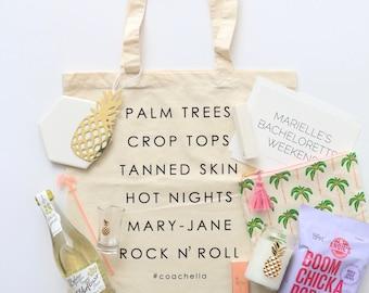 Coachella Bachelorette Tote Bags
