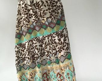 SK0012 Maxi Skirt for Beach Summer , ohi skirt
