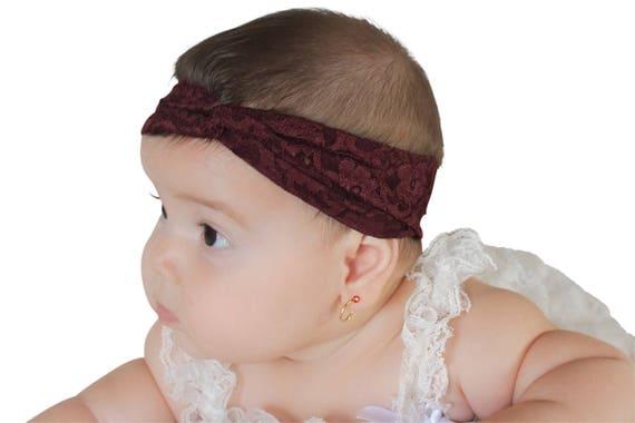 Toddler Turban, Brown Headband, baby turban headband, baby headband, baby headwrap, turban headband, toddler turban, toddler headband