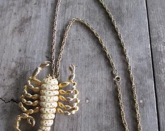 Razza Scorpio the Scorpion Zodiac Necklace - Statement Piece