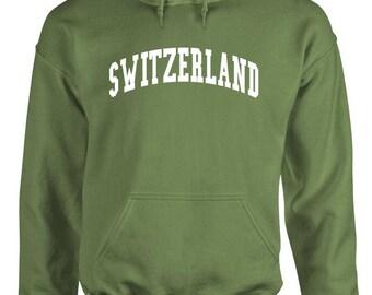 SWITZERLAND - Adult Hoodies