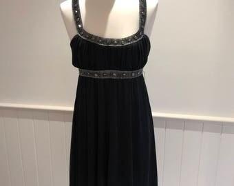 90's Vintage Dress -  Gothic Dress, Black Dress, Hot Options, Alternative Dress, Goth Dress, 80s inspired dress