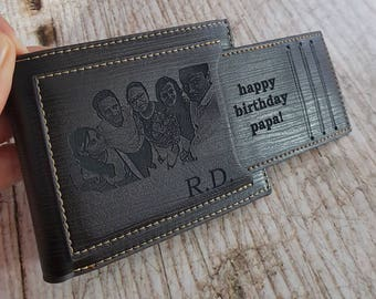 mens gift, mens wallet, mens personalized, gifts for men, gifts for dad, wallet men, men wallets, personalized engraved mens wallet, wallets