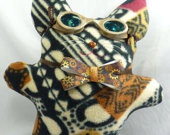 Steampunk Kitty Plushie