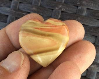 Polychrome Jasper Heart