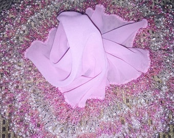 Pink Chiffon Mindil
