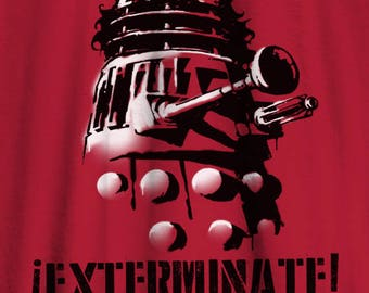 Doctor Who t-shirt Dalek Exterminate