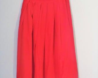 Long Poppy Skirt