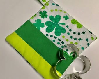 St. Patrick's Pot Holder & Cookie Cutter