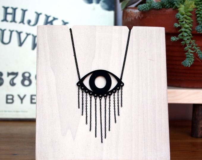"""Dirge"" Necklace in Black"