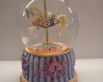 Vintage Carousel Dreams Rotating Music Box - San Francisco Music Box Co. - Original Box - Sweet!