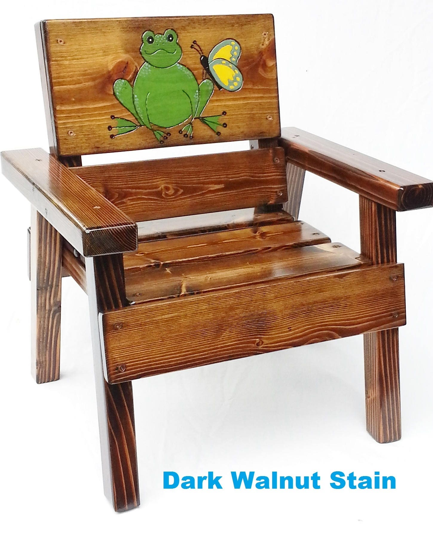 whimsical furniture painted wood chair childrens