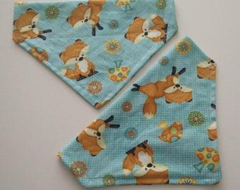 Foxy pet bandana