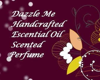 Essential oil perfume, Essential Oil Fragrance, Essential Oil Perfume, Roll on Fragrance, Perfume, Natural perfume,  Dazzle Me Scent