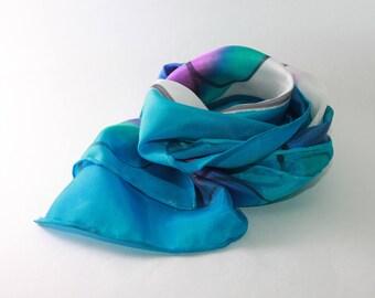 Petite fleur silk scarf