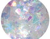Frosted Candy Land Glacier | Face, Hair & Body Glitter | Festival Glitter Mix | Loose Chunky Festival Glitter | Iridescent Shreds Flakes