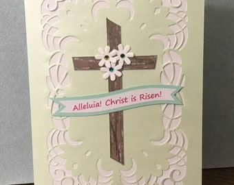 Easter, Religious, Spiritual, Greeting Card - Hand Made