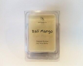 Bali Mango Organic Soy Wax Melts, Candle