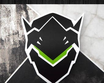 Overwatch - Genji Vinyl Decal Sticker | One or Two Color Option