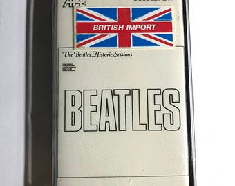 SEALED The Beatles Historic Sessions cassette tape 1981 UK Import Double Play