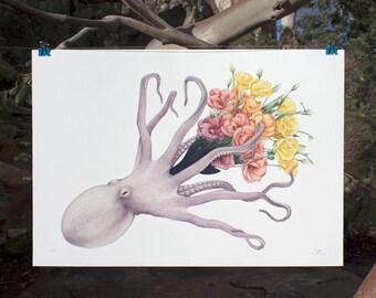 A4 Giclee Print - 'Bloom'