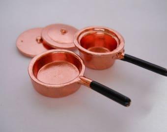 Miniature Pan and Pot