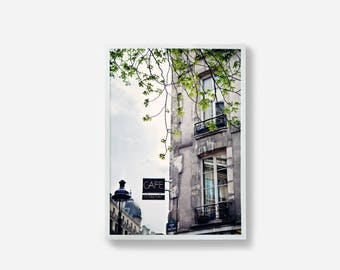 Paris, Photographic Print, Building Print, Paris Wall Art, Home Decor, Paris, France, Wall Art, Photography, Architecture Photo, Art, Gray
