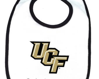 UCF Central Florida Knights Personalized Baby Bib