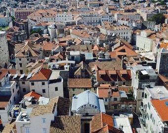 Red Roofs of Split, Croatia Photo