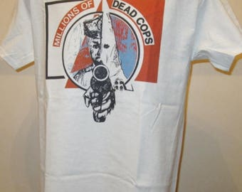 MDC Millions Of Dead Cops Printed T Shirt - Music Hardcore Punk Rock - New W143 Mens Womens Tee