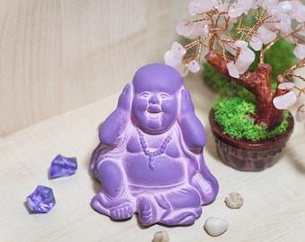Buddha/ Statue/ Laughing Buddha/ Buddha Meditation Decor/ Zen Art/ Buddha Altar Statue/ Zen Garden/ Buddah/ Yoga Gifts/ Office Decor