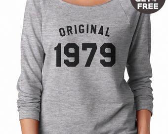 39th birthday sweatshirt 1979 sweater fashion tshirt women sweatshirt men tshirt crewneck sweater graphic tshirt birthday gift funny tshirt