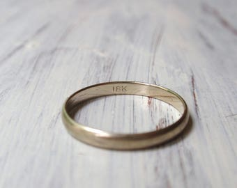 Vintage wedding band Etsy