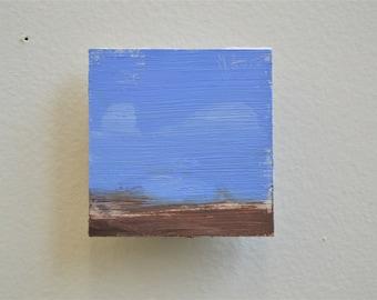 UTOPIA 2 / Original Oil Painting / Refrigerator Magnet