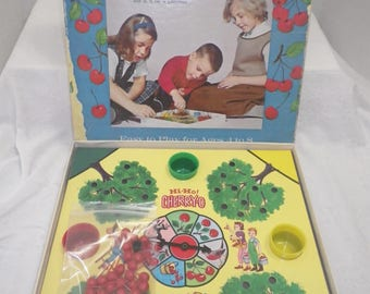Hi-Ho Cherry O ~ Game Night ~ Vintage Game ~ Beginner Games