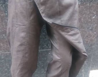 Disorder Samurai Trouser in Waxed Linen