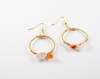 Guitar String Earrings, Guitar Jewelry